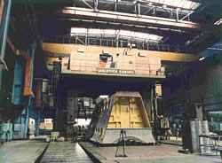 CNC Waldrich gantry mill
